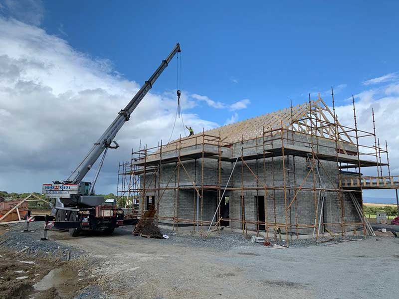 ONE OFF NZEB HOUSE DETACHED GARAGE & CAR PORT IN DUNLEER CO.LOUTH